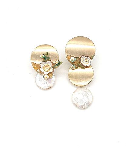 Kyoto floral earrings