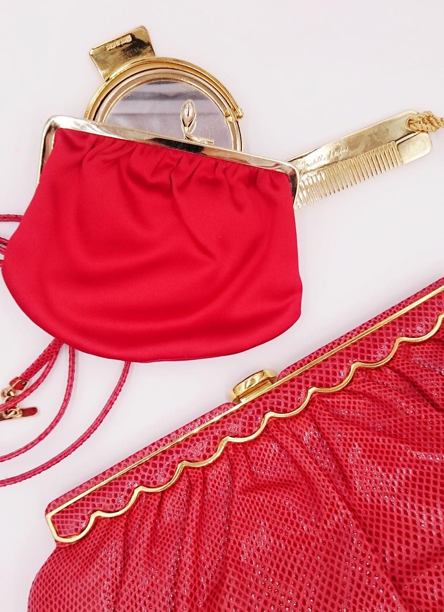 Red Leiber bag