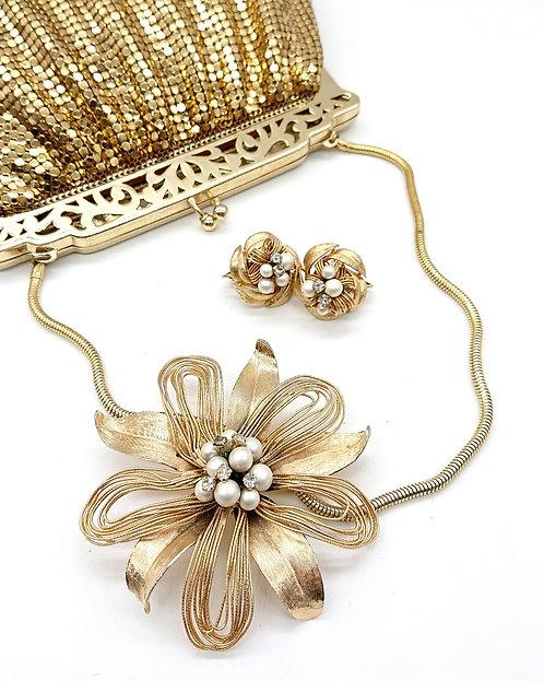 Kramer fabulous floral brooch