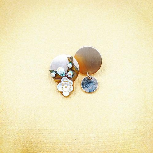 Kyoto cherry blossom earrings
