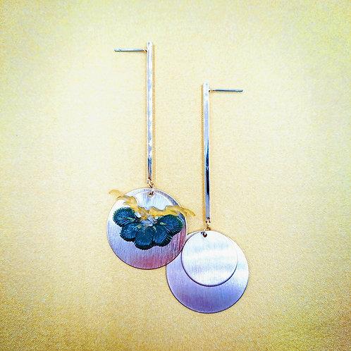 Kyoto pine earrings