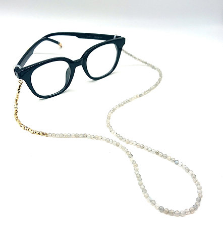 Moonstone glasses chain