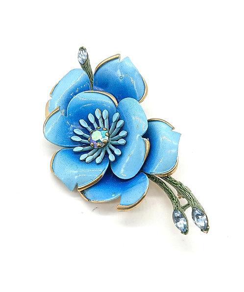 Lisner flora brooch