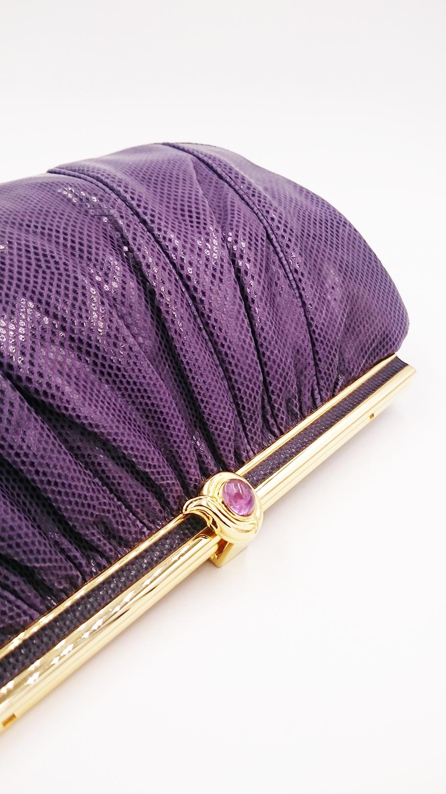 Purple Leiber bag