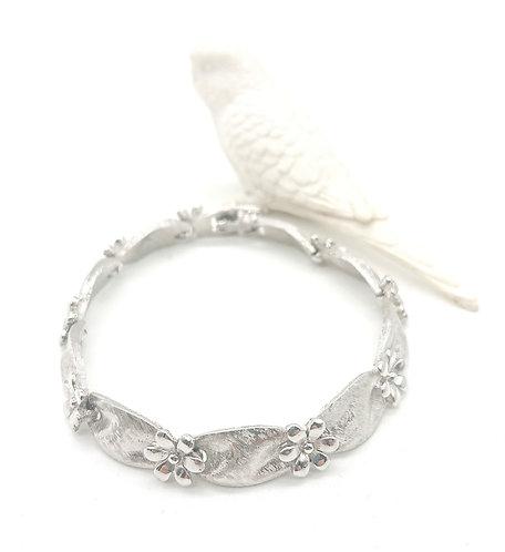 Trifari floral bracelet