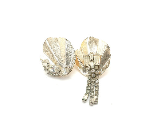 Reconstructed vintage earrings