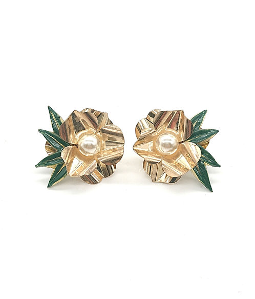 Kyoto floral earrings