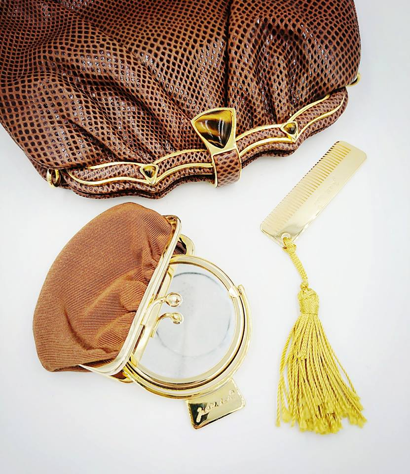 Brown Leiber bag