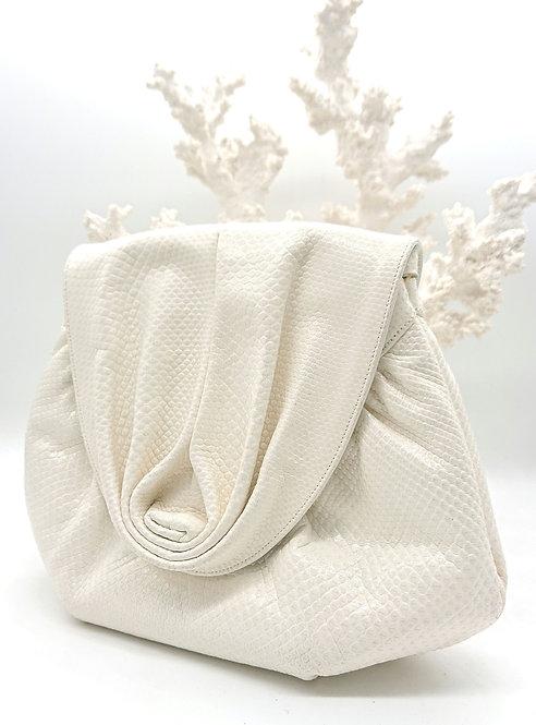 Pure white Finesse La Model purse