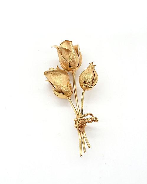 Rose Lisner brooch