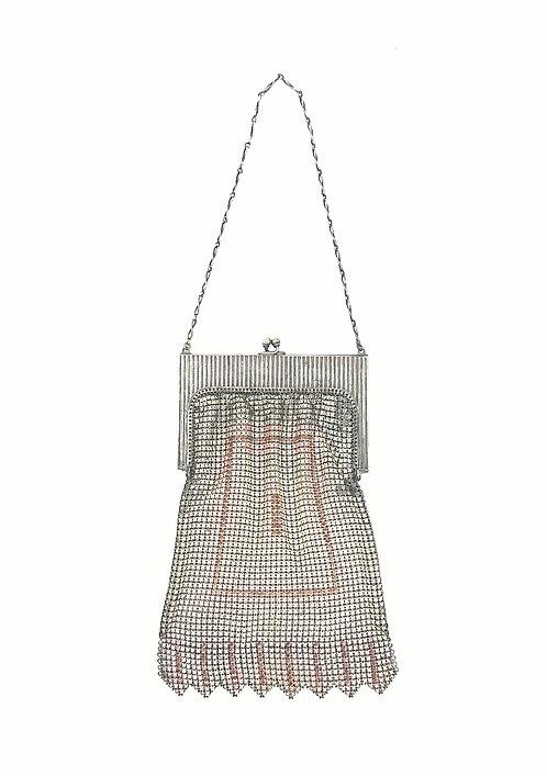 Art deco enamel purse