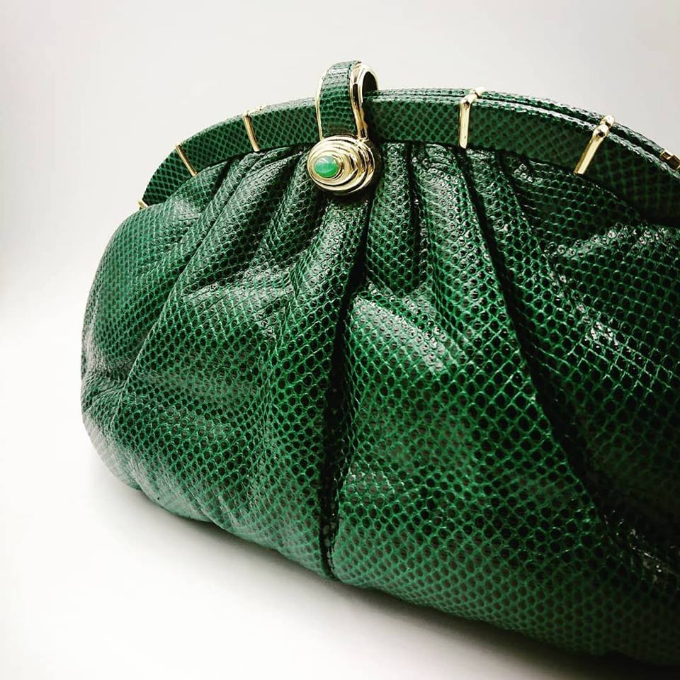 Emerald green Leiber bag