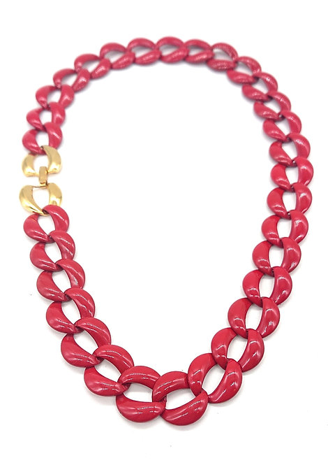 Napier red choker
