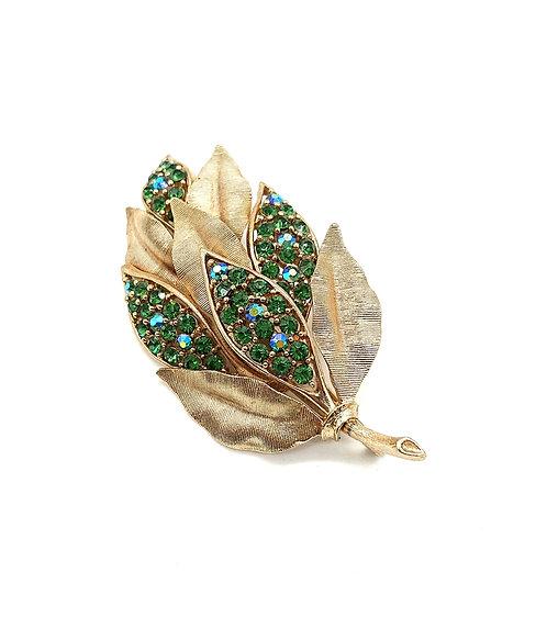 Lisner rhinestones brooch