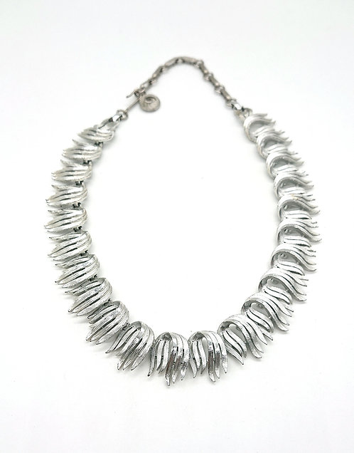 Lisner collar in silver plating