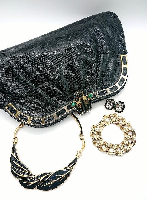 Finesse La Model black purse