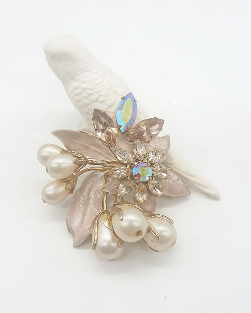 Romantic Regency brooch