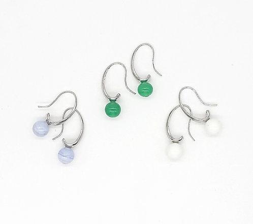 Simple hook earrings