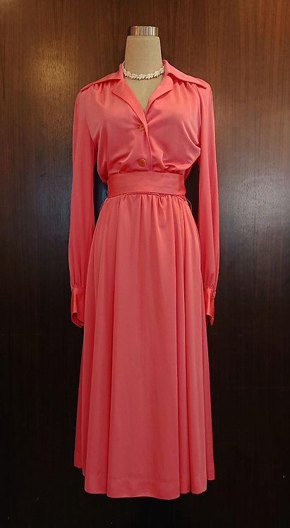 Pink one piece dress