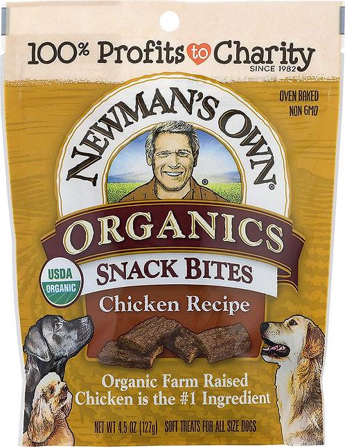 Organic Chicken Flavor Dog Snack Bites