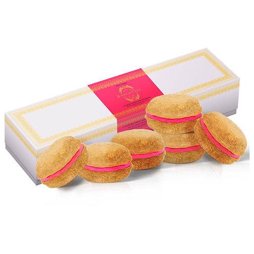 Bonne et Filou Rose Dog Macarons (Box Packaging)