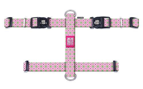 Max & Molly H-Harness - Retro Pink