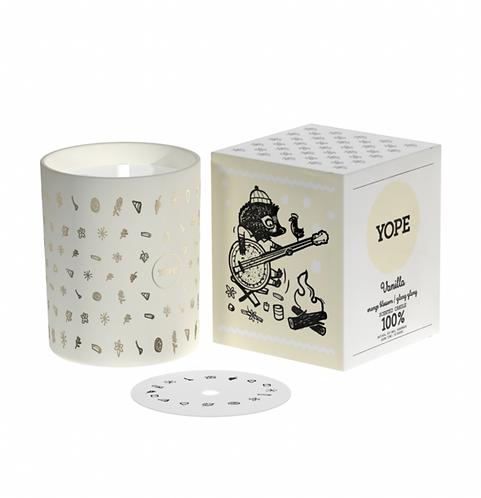 Yope Natural Handmade Candle - Vanilla 200g