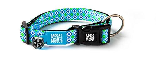 Max & Molly SMART ID COLLAR - Retro Blue