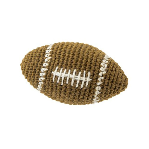 FAD Handmade Crochet - Rugby (Brown)