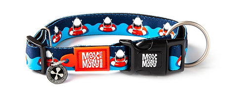 Max & Molly SMART ID COLLAR - Frenzy the Shark