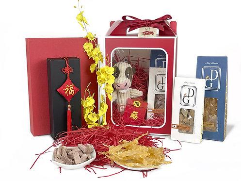 the Dog's Garden Chinese New Year Gift Box - Set 1