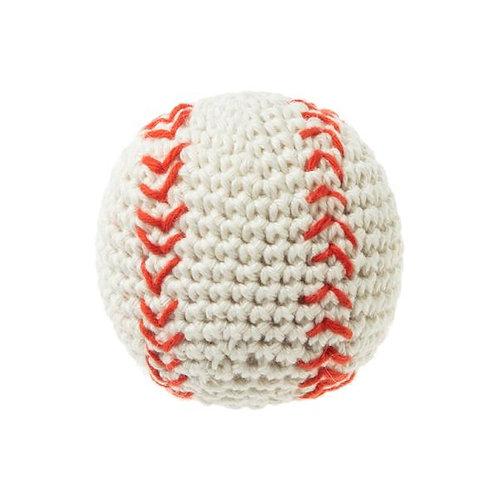 FAD Handmade Crochet - Baseball (white)