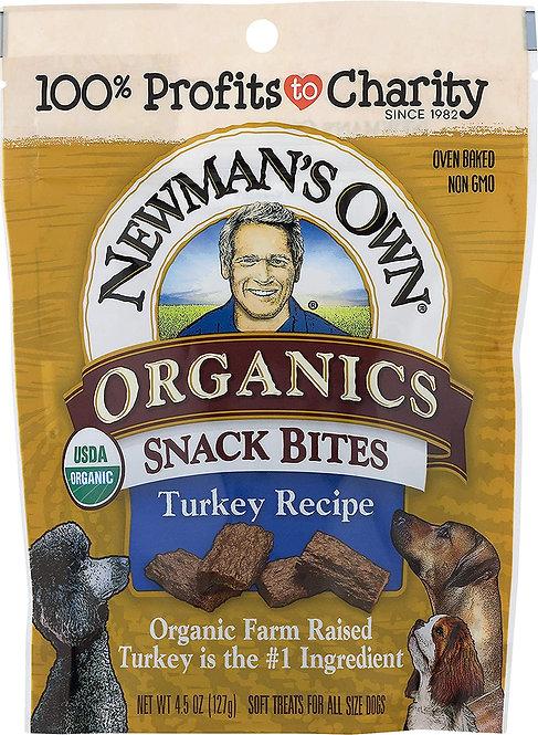 Organic Turkey  Flavor Dog Snack Bites
