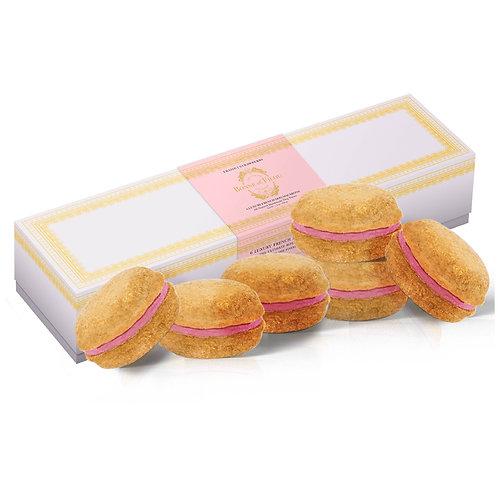 Bonne et Filou Strawberry Dog Macarons (Box Pack)