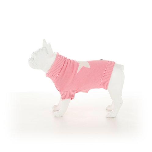 Hugo & Hudson Pink Union Jack Dog Jumper