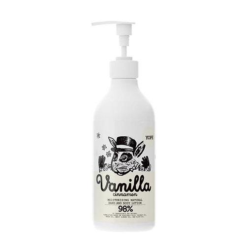 YOPE Hand & Body Lotion Vanilla&Cinnamon 300 ml