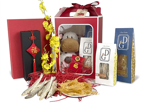 the Dog's Garden Chinese New Year Gift Box - Set 2