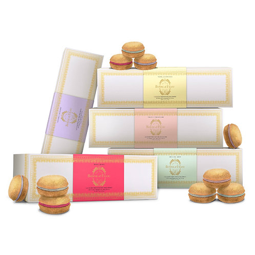 Bundle of 5 Boxes Bonne et Filou Dog Macaron