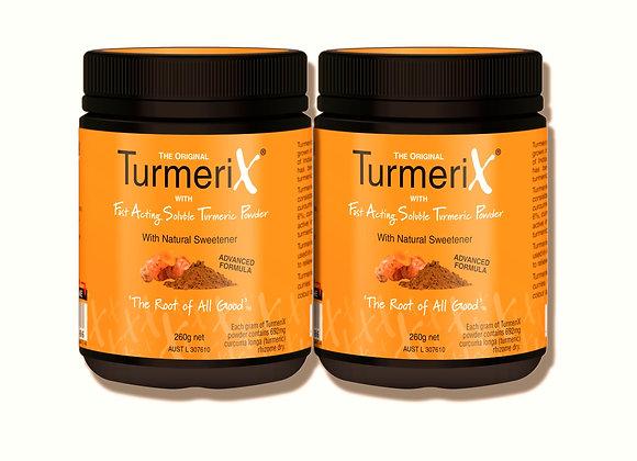 TurmeriX 2 burkar - 260g