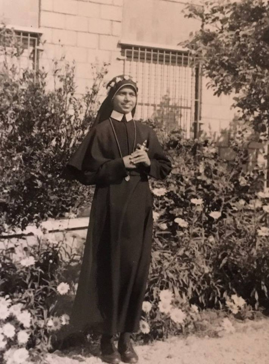 Sr. Editta on her First Profession