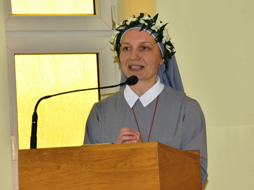 First Profession of Sr. Kinga