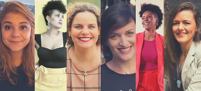 Imagem palestrantes Cruzando_6 mulheres.