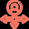 icones com setas sobre caminhos