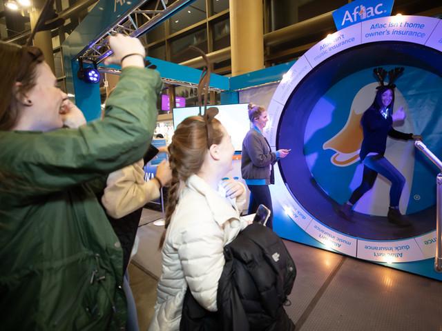 Aflac Hamster Wheel