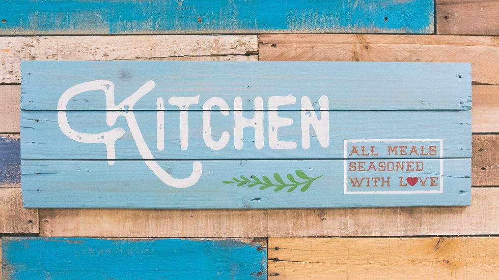Kitchen/All Meals Seasoned w/Love