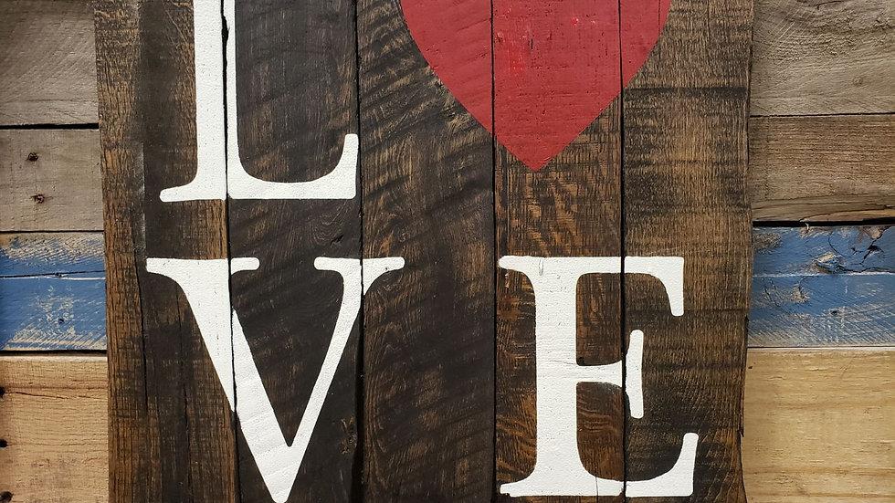 Love 5 Plank