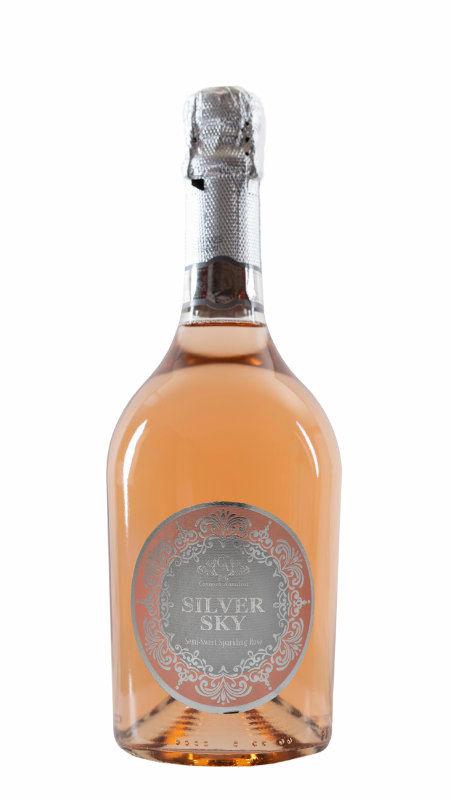 Silver Sky Semi-dry Sparkling Rosé