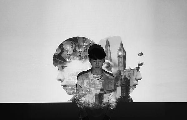 yauvince self portrait photography projection media