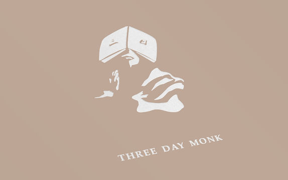 Three day monk music artist band branding logo design