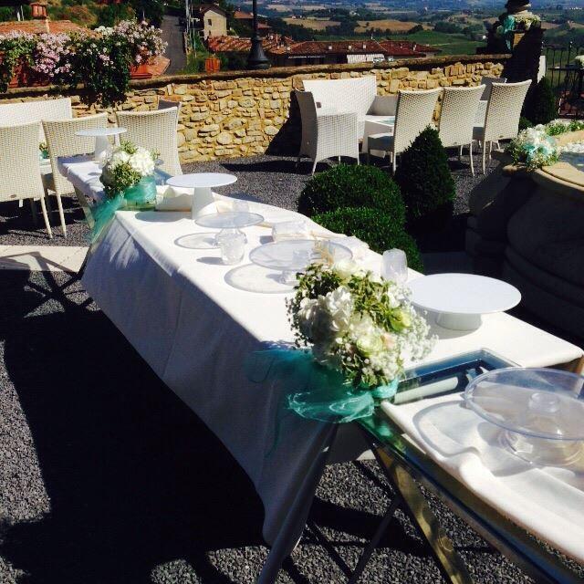 tavolo in preparazione